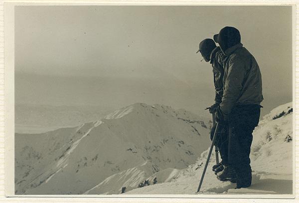 4 1958年3月 上越の山なみはるか