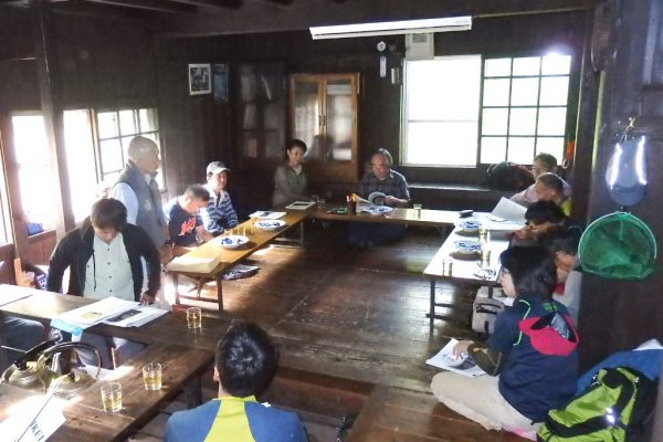 懇談会 踏高会の熊崎より開会の挨拶